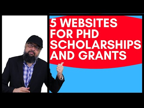 5 Websites To Get Phd Scholarships And Research Grants