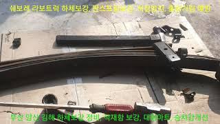 쉐보레 라보트럭 판스프링보강, 적재함 보강