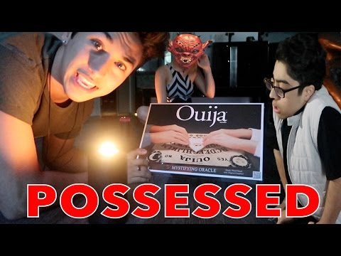 HE GOT POSSESSED WHILE PLAYING THE OUIJA BOARD! *DO NOT TRY AT HOME*