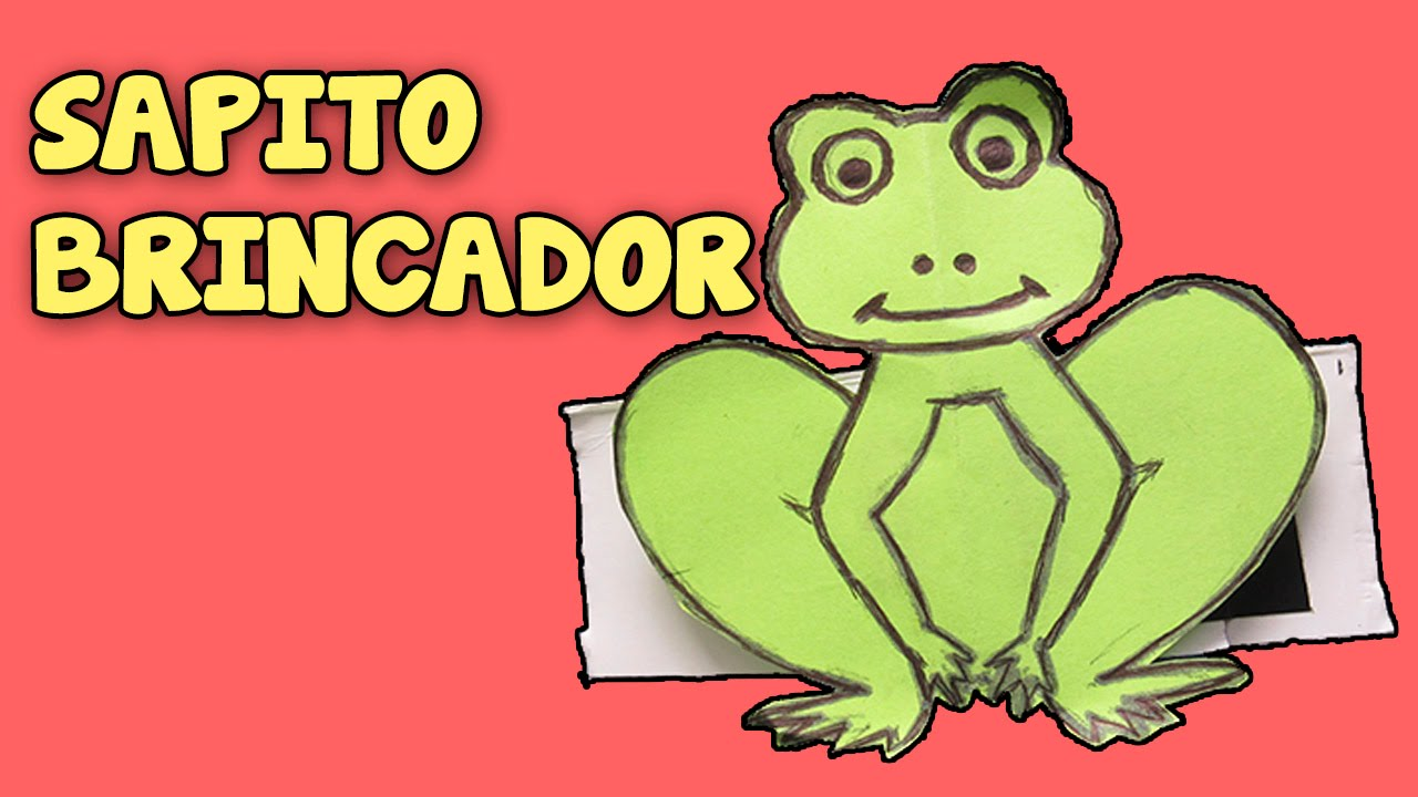 Como Frog Salta│juguetes Una Que A To Rana Caseros│how Paper De Hacer Make Papel b6vf7gyY