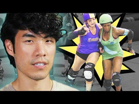 Thumbnail: The Try Guys Try Roller Derby