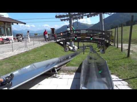 Unfall Sommerrodelbahn Walchsee