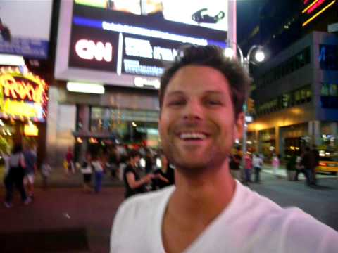 My First Commercial in Times Square very exciting -  Christopher Peuler
