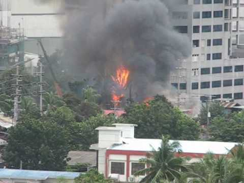 Cebu Fire Images - Reverse Search