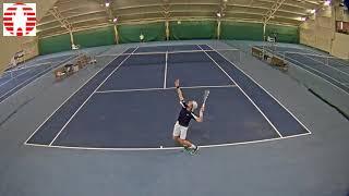 Michael Vrbenský vs  Jannis Kahlke 13 11 2017 ITF Futures Říčany  muži