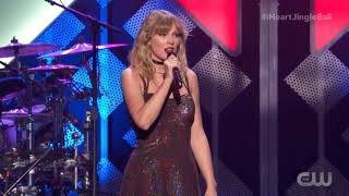 Taylor Swift - Christmas Tree Farm - Live at the Z100 iHeartRadio Jingle Bell Ball 2019