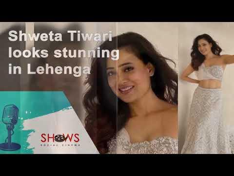 Shweta Tiwari looks stunning in Lehenga