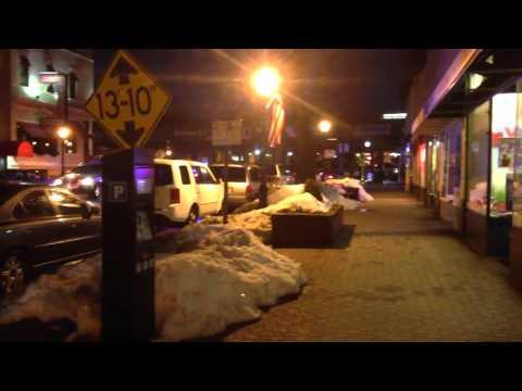 HD! RARE! NJ Transit Police Car Responding Urgently at Night!