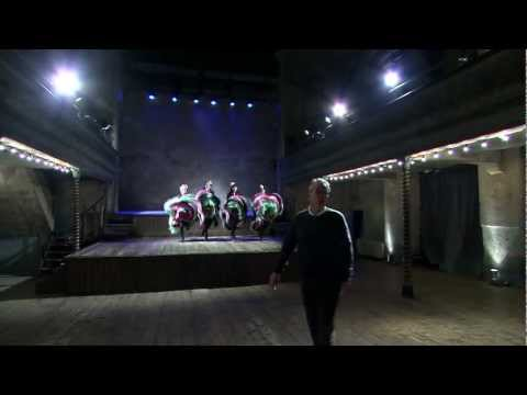 National Treasures Live -Wiltons music hall- Larry Lamb