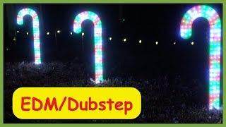 EDM/Dubstep RGB LED Christmas Light Show (2018)
