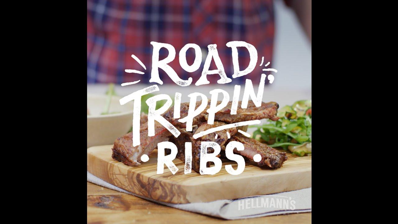 Hellmann's & DJ BBQ: Road Trippin' Ribs Recipe #grilltopia