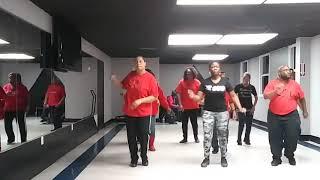 Fallen line dance choreographed by Deirdre Seabrook