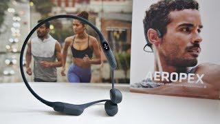 Amazing Wireless Bone Conduction Headphones - AfterShokz AEROPEX