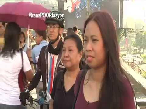 "DOCUMENTARY: ""Transportasyon"" Bike vs Bus vs MRT Commuter Race PART 1/2"