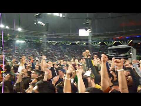 Primer gol de Messi antes del show de U2