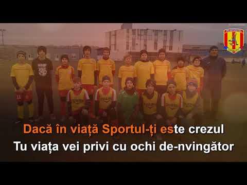 """Imnul clubului sportiv: """"FC Sportul"""""""