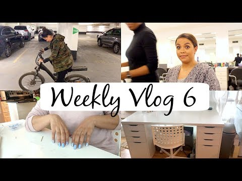 New Hair, Learning to Ride a Bike, YouTube Struggles, Desk Setup! Weekly Vlog 6