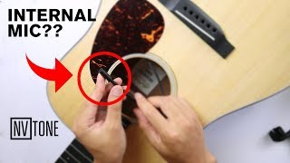 Internal Acoustic Microphone - NV Tone Model Duo Review & Unboxing 🎸