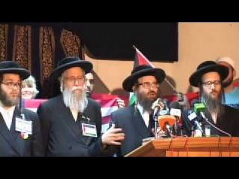 Rabbi Weiss speaks at Viva Palestina press conference in Cairo - English