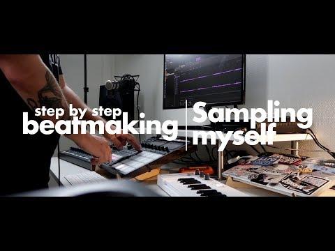 """Making a """"sampled"""" beat on Maschine MK3"""