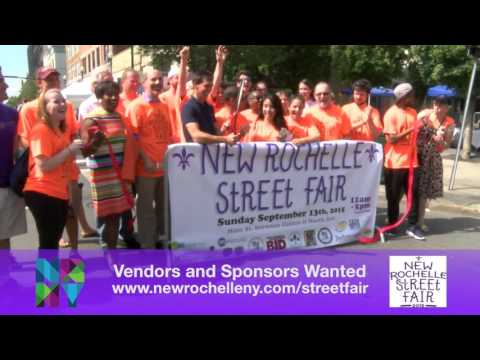 NR Future is looking for volunteers to assist with the fourth annual New Rochelle downtown Street Fair.