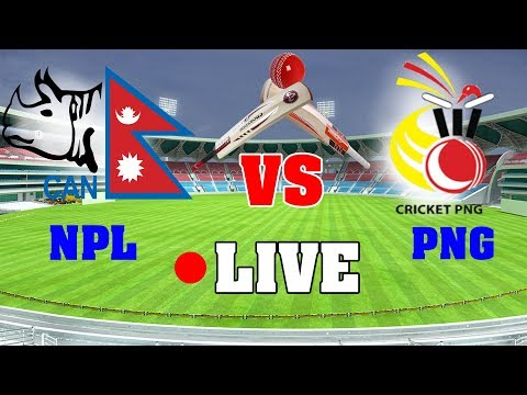 🔴Nepal Vs Papua New Guinea Live Match  Commentary, ICC World Cup Qualifiers, 2018