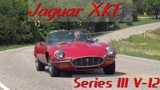 1972 Jaguar XKE Series III V12 Roadster OTS road test & tour with Samspace81