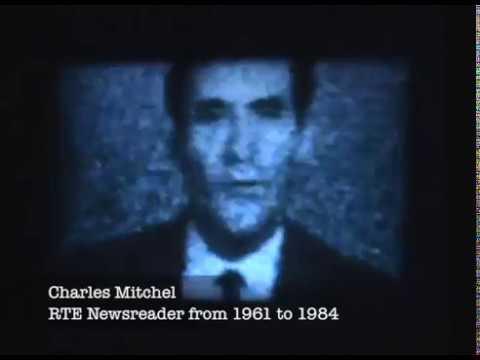 RTE (Telefís Éireann) - Early TV reception with Charles Mitchel newsreader