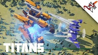 Planetary Annihilation: TITANS - Titans Only Multiplayer Battle