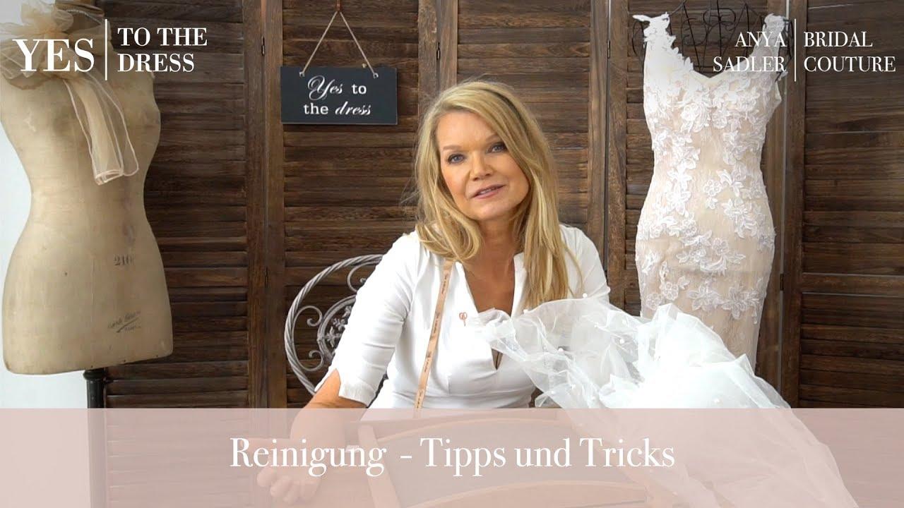 Professionelle Brautkleid-Reinigung  YES TO THE DRESS