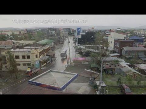 Ferocious 'Ompong' plows through rain-soaked northern Luzon