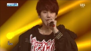 Cover images Henry (헨리) [Trap (feat 규현)] @SBS Inkigayo 인기가요 20130623
