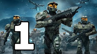 Halo Wars Walkthrough Part 1 - No Commentary Playthrough (Xbox 360)