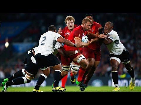 England v Fiji - Full Match Highlights & Tries
