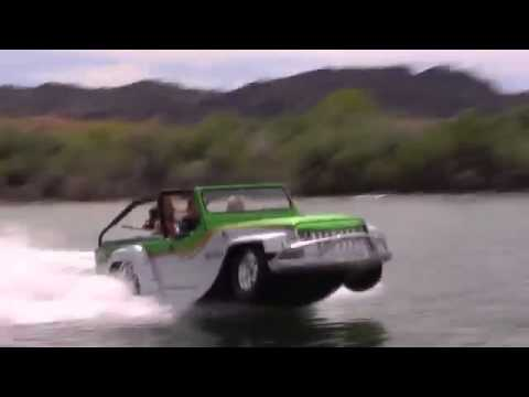 Water jeep - YouTube