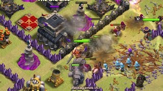 Video clash of clans/This is a battle between li yong He V / s Ra love(game 2018)