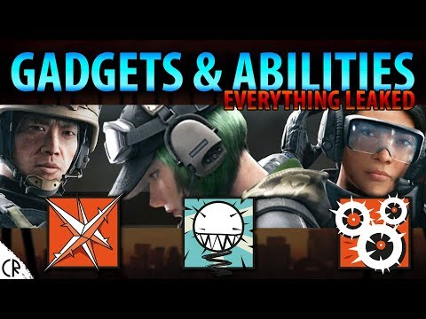 Gadgets & Abilities - Ela, Lesion and Ying - Blood Orchid - Hong Kong - Rainbow Six Siege - R6
