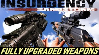 Insurgency Sandstorm - All Fully Upgraded Weapons In Slow Motion