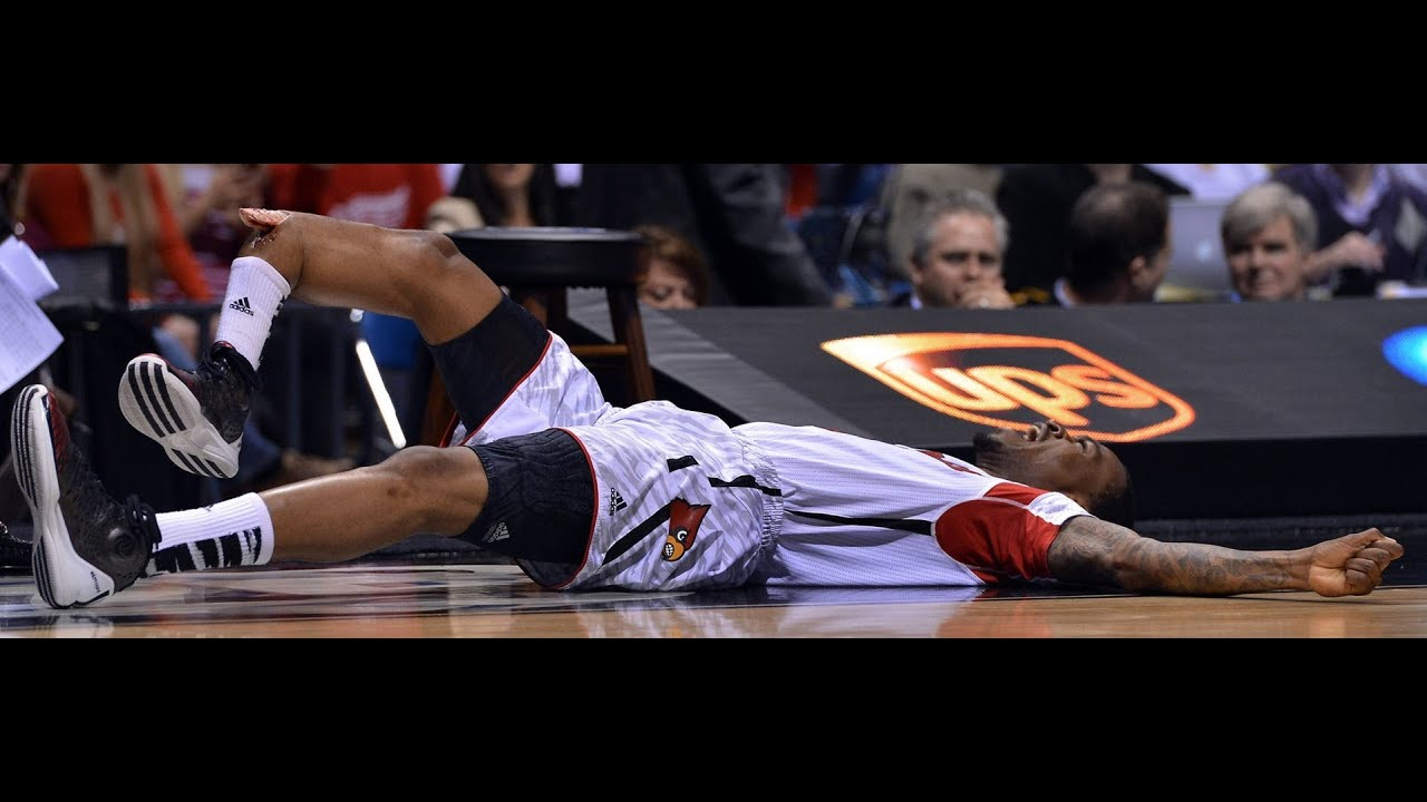 4dc93f8849 UPDATE Louisville Kevin Ware's BONE POPS OUT THE SKIN OF HIS LEG in WORST  SPORTS INJURY EVER!