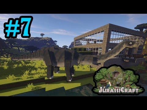 Sauropod Hotel Apatosaurus!!! | Jurassicraft 2.0 - Minecraft | #7