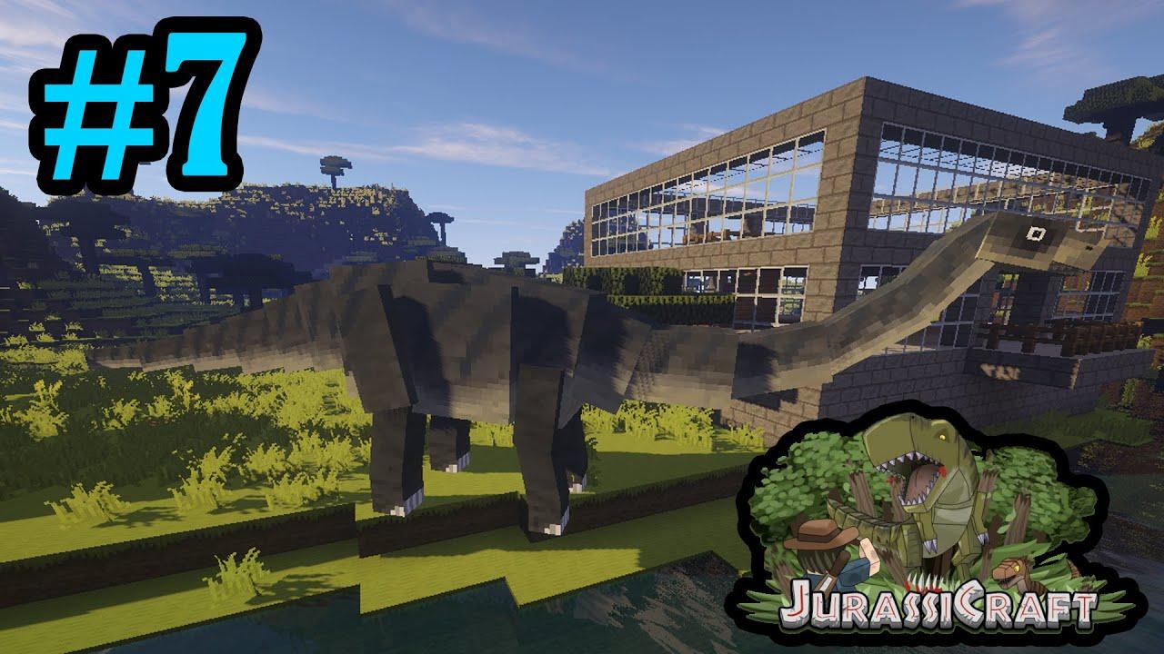 sauropod hotel apatosaurus jurassicraft 2 0 minecraft 7 youtube. Black Bedroom Furniture Sets. Home Design Ideas