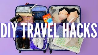 DIY TRAVEL LIFE HACKS!!
