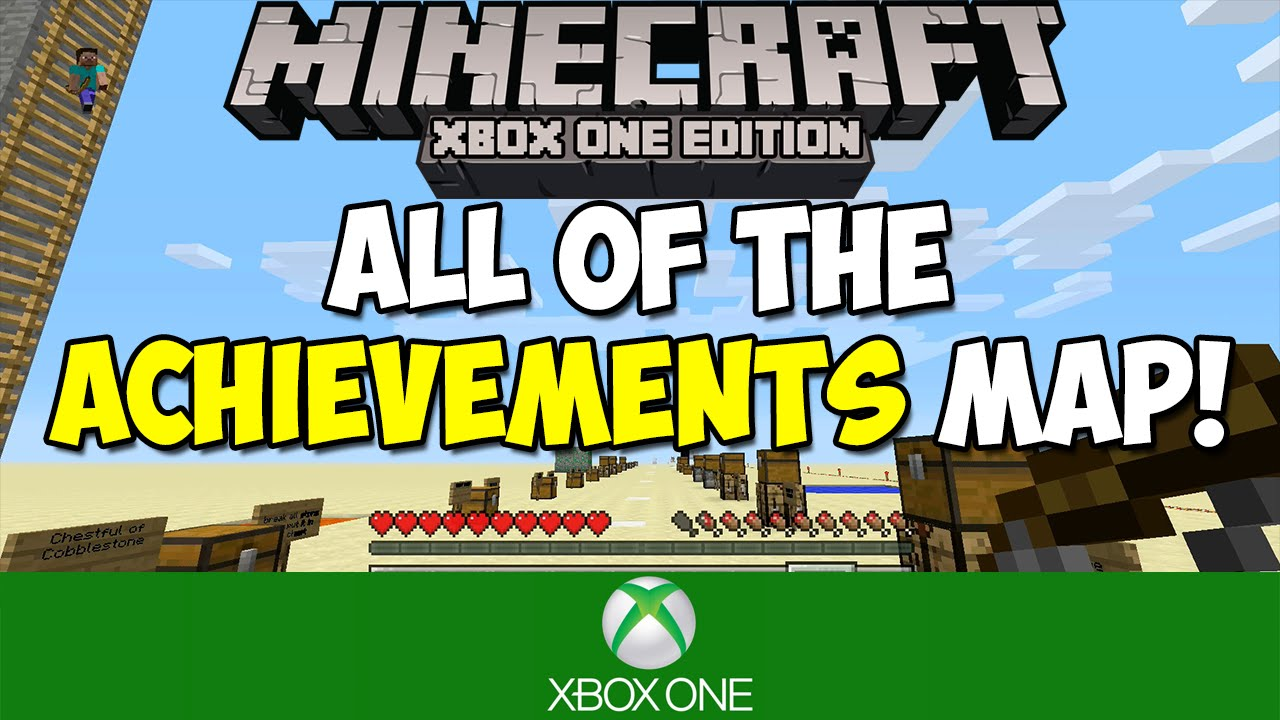 minecraft xbox achievement map download