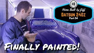 Finally Painted! - Home Built Datsun 240z Part 54