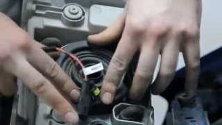 Установка Биксенона Il Trade H4 4.3k на автомобиль Chevrolet Aveo
