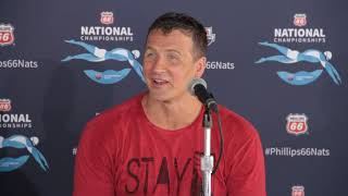 2019 US Swimming National Championships: Ryan Lochte Press Conference Pt. 2