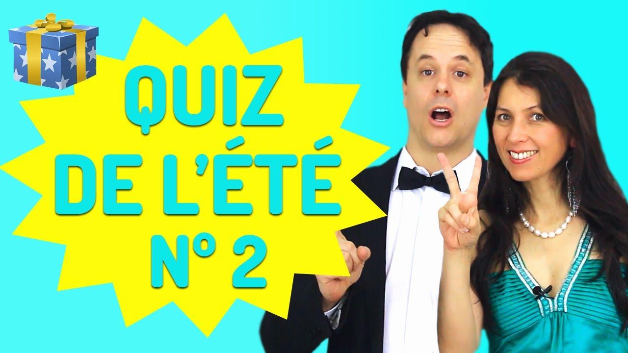 Le Grand Quiz de français de l'Été Nº 2 (Exercices de français)