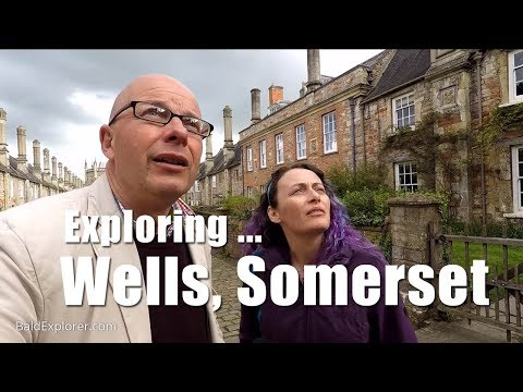 Walks in Somerset - Exploring Cathedral City of Wells