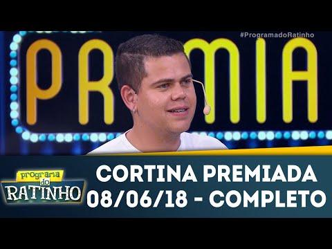 Cortina Premiada - Completo | Programa Do Ratinho (10/06/18)