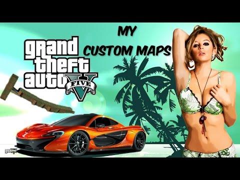 GTA 5 ONLINE CUSTOM MAP RACE OR DIE- by Malicious Cat